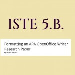ISTE 5B