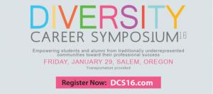 Diversity Career Symposium advertisement.