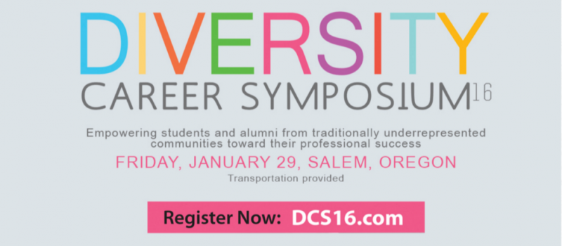 Diversity Career Symposium advertisement.