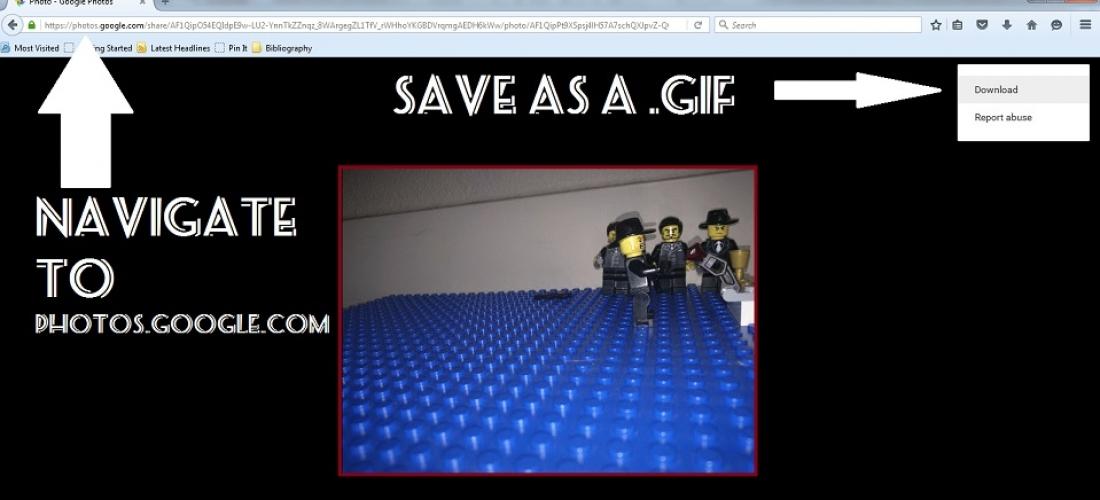 Lego GIF Tutorial